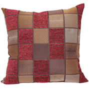 Windowpane Decorative Pillow