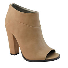 Michael Antonio John Peep-Toe Shooties