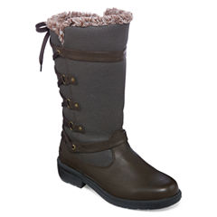 Totes Mona II Lace Back Winter Boots