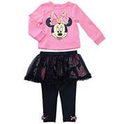 Disney Girls Skirt Set