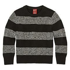 Arizona Crew-Neck Solid Sweater - Toddler Boys 2T-5T
