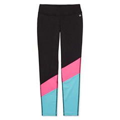 Xersion Performance Colorblock Tights - Girls 7-16