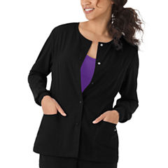 Jockey Womens Round Neckline Snap Jacket