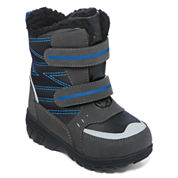 totes® Toby Boys Insulated Double-Strap Boots - Toddler