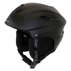 Ventura Black Skiing/Snowboarding Youth Helmet