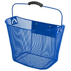 Ventura Unisex Quick Release Blue Wire Basket