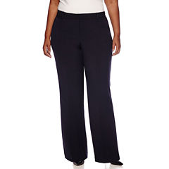 Worthington® Curvy Fit Trouser Pants - Plus