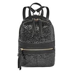 T-Shirt & Jeans Glittery Mini Backpack