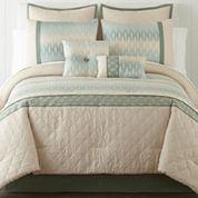 Cadence 6-pc. Jacquard Comforter Set