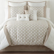 Quad 6-pc. Jacquard Comforter Set
