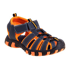 Rugged Bear Closed-Toe Boys Sandals - Little Kids