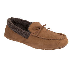 HeatCore Roll Collar Moccasin Slippers