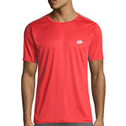 Lotto Short-Sleeve Mesh Soccer Tee