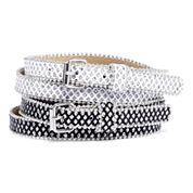 Relic® 2-pk. Glitter Skinny Belts