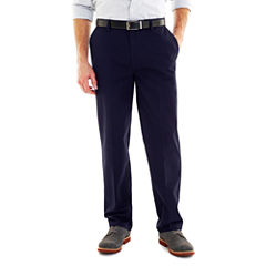 St. John's Bay® Worry Free Comfort-Ease Relaxed-Fit Flat-Front Pants