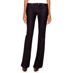 a.n.a® Thick-Stitch Bootcut Jeans - Tall