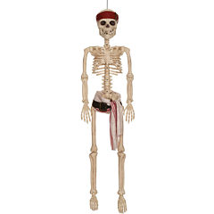 Pirates of the Caribbean - 36 Jack Sparrow HangingPoseable Skeleton