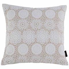 Kensie Laramie Square Throw Pillow