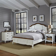 Beaumont Bed, Nightstand and 4-Drawer Chest Set