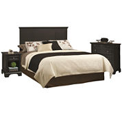 Rockbridge Headboard, Nightstand and Chest