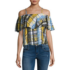 Project Runway Tiered Ruffle Top