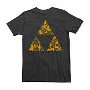 Nintendo® Short-Sleeve Zelda Triforce Elements Tee
