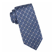 Collection by Michael Strahan™ Parker Grid Silk Tie - Extra Long