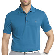 IZOD® Short-Sleeve Golf Grid Polo