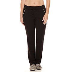 Made For Life French Terry Workout Pants Petites