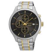 Seiko Mens Two Tone Bracelet Watch-Sks543