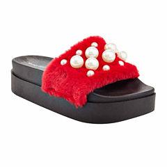 Henry Ferrera Fiesta Pearl Womens Slide Sandals