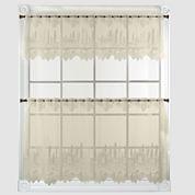 Pinecone Kitchen Curtains