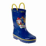 Josmo Paw Patrol Boys Rain Boots - Toddler