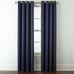 Liz Claiborne® Kathryn Room-Darkening Grommet-Top Curtain Panel
