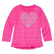 Arizona Long-Sleeve Graphic Top - Toddler Girls 2t-5t