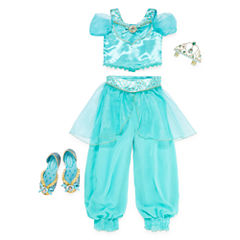 Disney Collection Jasmine Costume, Tiara or Shoes - Girls