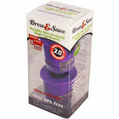 Ekobrew 40141 Brew & Save Reusable Filter for Keurig Brewers Twin Pack