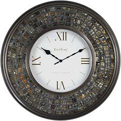 FirsTime® Glass Mosaic Wall Clock