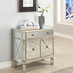 Harlowe Mirrored Console Table