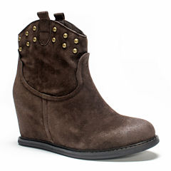 MUK LUKS® Talia Womens Wedge Ankle Boots