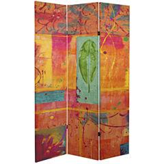 Oriental Furniture 6' Dream Canvas Room Divider