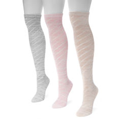 Muk Luks Knee High Socks
