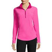 Made for Life™ Long-Sleeve 1/4-Zip Brushed Fleece