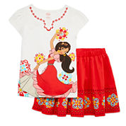 Elena of Avalor 2-pc. Skirt Set - Girls