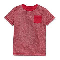 Arizona Stripe Tee Short Sleeve Crew Neck T-Shirt-Preschool Boys