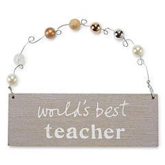 Teacher Plaque