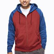 The Foundry Big & Tall Supply Co.™ Long-Sleeve Full-Zip Raglan Hoodie