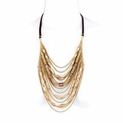 Studio By Carol Womens Strand Necklace
