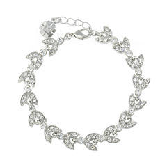 Monet Jewelry The Bridal Collection Womens 7 1/2 Inch Link Bracelet