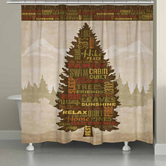 Laural Home Great Outdoors Shower Curtain